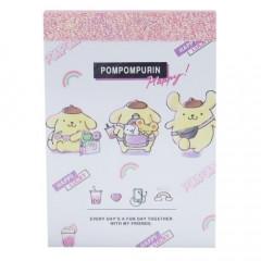 Japan Sanrio B8 Mini Notepad - Pompompurin Travel