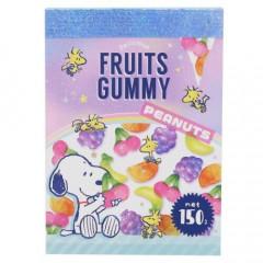 Japan Snoopy B8 Mini Notepad - Fruit