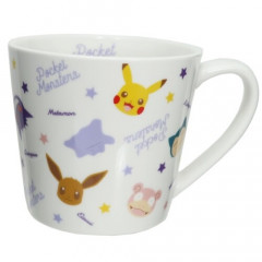 Japan Pokemon Ceramic Mug - Pikachu & Monsters