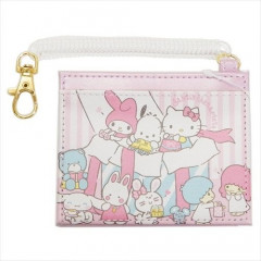 Japan Sanrio Pass Case Card Holder - Sanrio Family