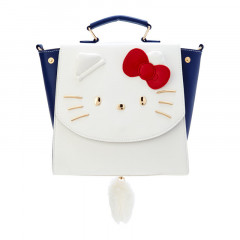 Japan Sanrio 3 Ways Mini Backpack Bag - Hello Kitty