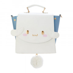Japan Sanrio 3 Ways Mini Backpack Bag - Cinnamoroll
