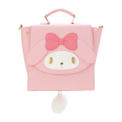 Japan Sanrio 3 Ways Mini Backpack Bag - My Melody