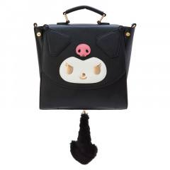 Japan Sanrio 3 Ways Mini Backpack Bag - Kuromi