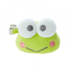Japan Sanrio Plush Hair Clip - Kerokerokeroppi