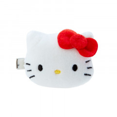 Japan Sanrio Plush Hair Clip - Hello Kitty