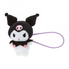 Japan Sanrio Mini Plush Hair Tie - Kuromi