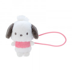 Japan Sanrio Mini Plush Hair Tie - Pochacco