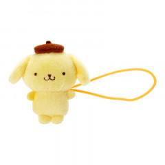 Japan Sanrio Mini Plush Hair Tie - Pompompurin