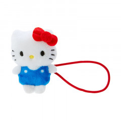Japan Sanrio Mini Plush Hair Tie - Hello Kitty
