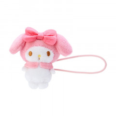 Japan Sanrio Mini Plush Hair Tie - My Melody