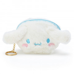 Japan Sanrio Fluffy Mini Pouch (S) - Cinnamoroll