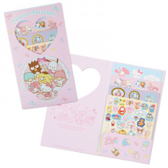 Japan Sanrio Sticker 200pcs - Sanrio Family