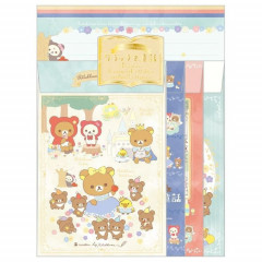Japan Rilakkuma Letter Envelope Set - Fairy Tale