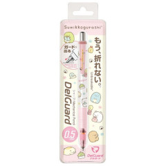 Japan Sumikko Gurashi Zebra DelGuard 0.5mm Lead Mechanical Pencil - Light Pink