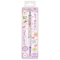 Japan Sumikko Gurashi Zebra DelGuard 0.5mm Lead Mechanical Pencil - Light Purple