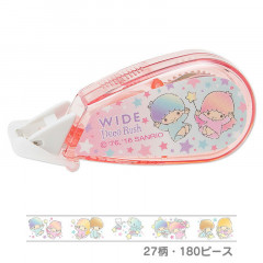 Japan Sanrio Wide Deco Rush - Little Twin Stars