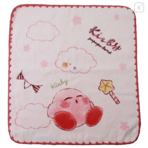 Japan Kirby Handkerchief Wash Towel - Candy Clouds - 1