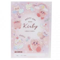 Japan Kirby B5 Glue Notebook - Dessert