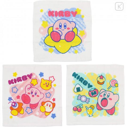 Japan Kirby Handkerchief Wash Towel - 3 pcs Set - 1