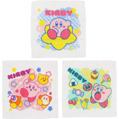 Japan Kirby Handkerchief Wash Towel - 3 pcs Set