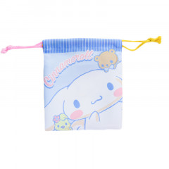 Japan Sanrio Drawstring Bag - Cinnamoroll Blue