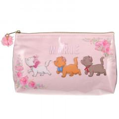Japan Disney Makeup Cosmetic Bag Pouch - Aristocat Marie Cat