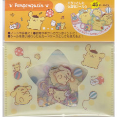 Japan Sanrio Flake Sticker Pack - Pompompurin