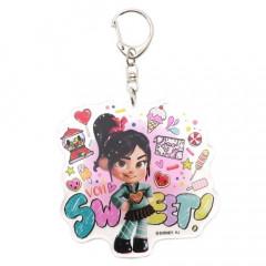 Japan Disney Acrylic Keychain - Sugar Rush Vanellope