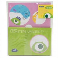 Japan Disney Letter Envelope Set - Monsters University