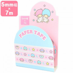 Japan Sanrio Washi Paper Masking Tape - Little Twin Stars