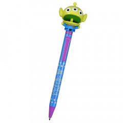 Japan Disney Limited Big Moving Mouth Ball Pen - Toy Story Alien Little Green Men