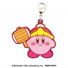 Japan Kirby Metal Charm Key Chain - King Dedede