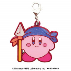 Japan Kirby Metal Charm Key Chain - Bandana Waddle Dee