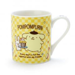 Japan Sanrio Mug - Pompompurin & Cake