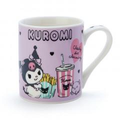 Japan Sanrio Mug - Kuromi & Fast Food