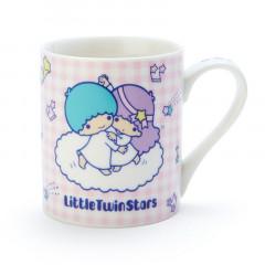 Japan Sanrio Mug - Little Twin Stars Dance