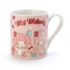 Japan Sanrio Mug - My Melody & Strawberry