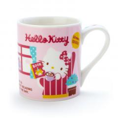 Japan Sanrio Mug - Hello Kitty Sunday