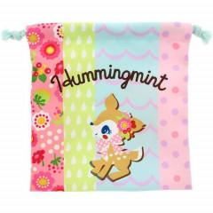 Japan Sanrio Drawstring Bag (S) - Hummingmint