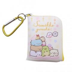 Japan San-X Mini Pouch Key Bag with Hook - Sumikko Gurashi