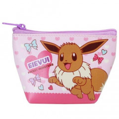 Japan Pokemon Triangular Mini Pouch - Eevee
