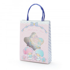 Japan Sanrio Stickers with Mini Paper Bag - Little Twin Stars