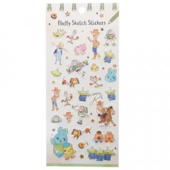 Japan Disney Masking Sticker with Gold Foil - Toy Story