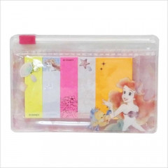 Japan Disney Sticky Notes with Mini Folder - Ariel