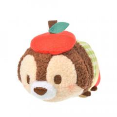 Japan Disney Tsum Tsum Mini Plush (S) - Chip × Apple