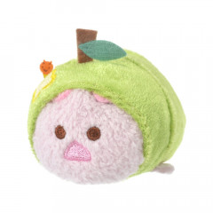 Japan Disney Tsum Tsum Mini Plush (S) - Piglet × Apple