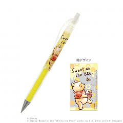 Japan Disney Mechanical Pencil - Winnie the Pooh 0.3mm