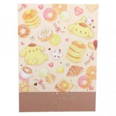 Japan Sanrio Mini Notepad - Pompompurin