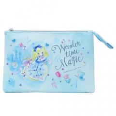 Japan Disney 3 Pocket Pouch (L) - Little Fairy Tale Alice